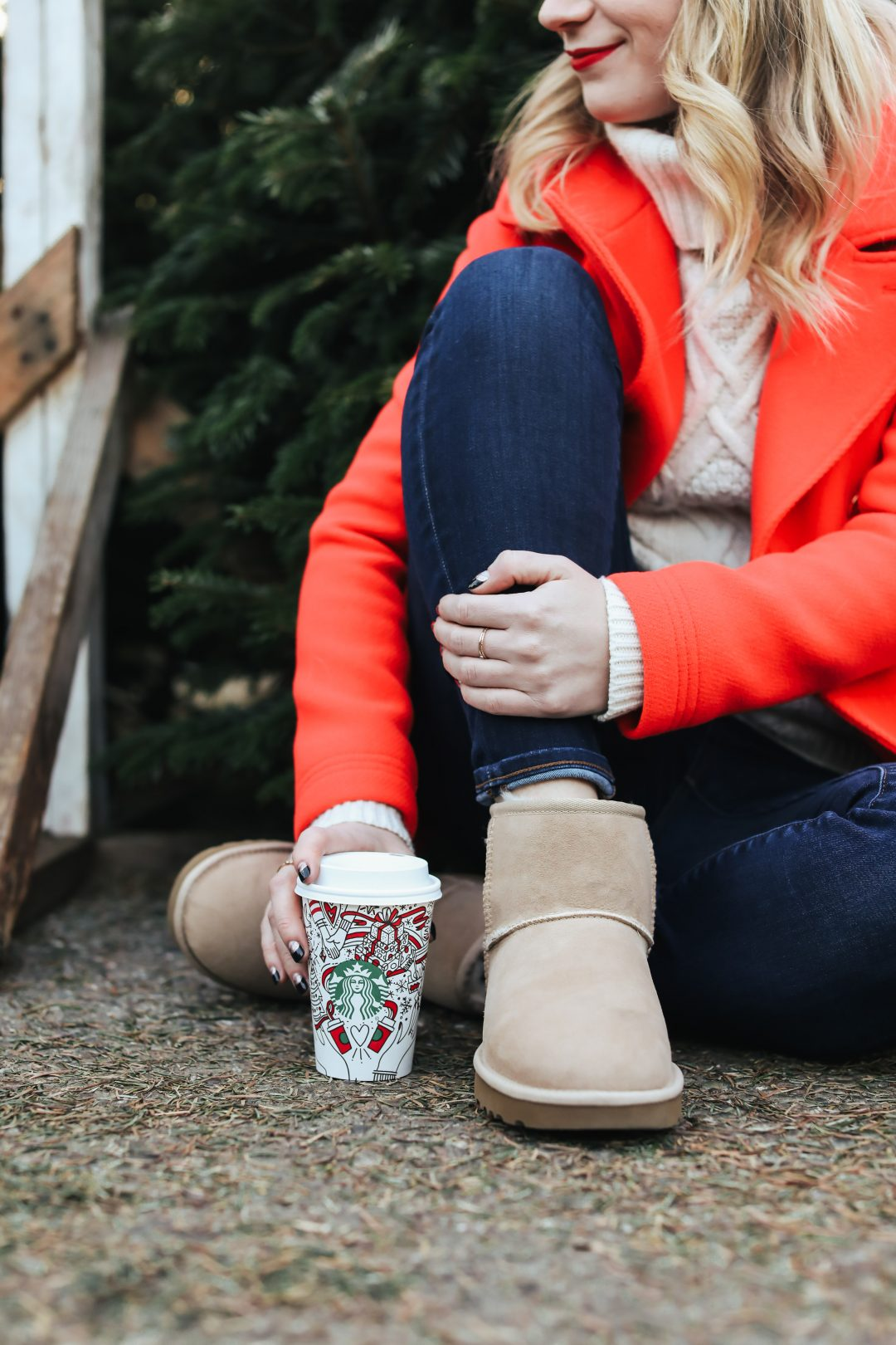 Feeling Festive in UGG Boots from Zappos.com.